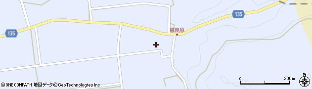大分県竹田市荻町恵良原2213周辺の地図