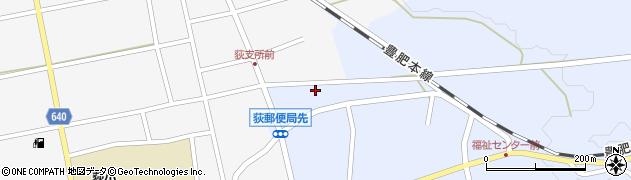 大分県竹田市荻町恵良原727周辺の地図