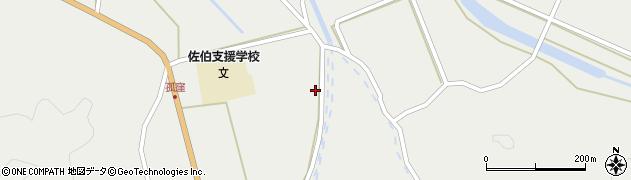 大分県佐伯市木立890周辺の地図