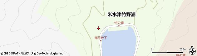 大分県佐伯市米水津大字竹野浦121周辺の地図