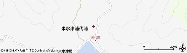 大分県佐伯市米水津大字浦代浦521周辺の地図