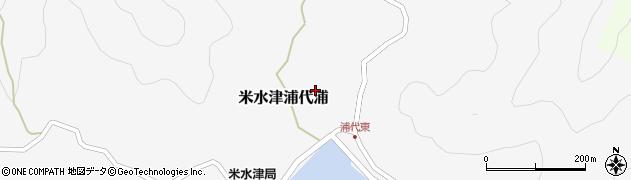 大分県佐伯市米水津大字浦代浦561周辺の地図