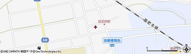 大分県竹田市荻町馬場426周辺の地図