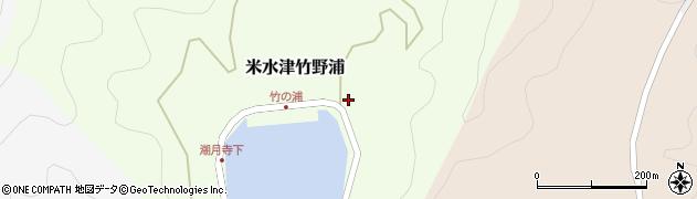 大分県佐伯市米水津大字竹野浦685周辺の地図
