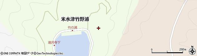 大分県佐伯市米水津大字竹野浦679周辺の地図