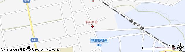 大分県竹田市荻町馬場431周辺の地図
