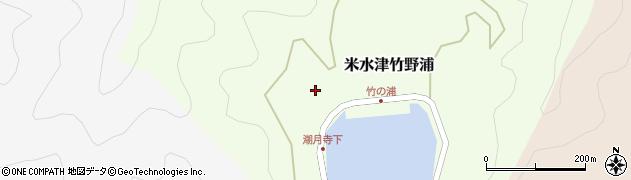 大分県佐伯市米水津大字竹野浦205周辺の地図