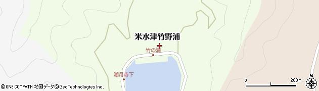 大分県佐伯市米水津大字竹野浦285周辺の地図