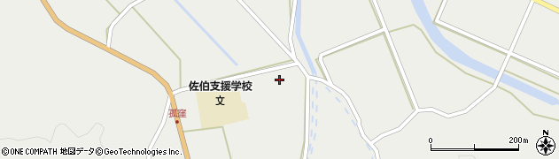 大分県佐伯市木立862周辺の地図