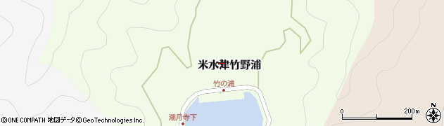 大分県佐伯市米水津大字竹野浦270周辺の地図