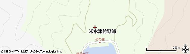大分県佐伯市米水津大字竹野浦265周辺の地図
