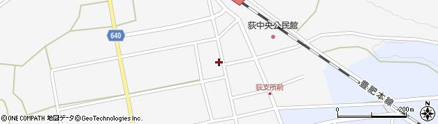 大分県竹田市荻町馬場489周辺の地図