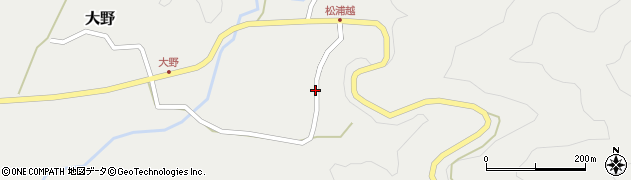 大分県佐伯市木立4767周辺の地図
