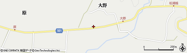 大分県佐伯市木立4906周辺の地図