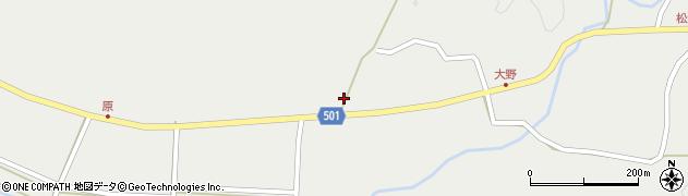 大分県佐伯市木立4934周辺の地図