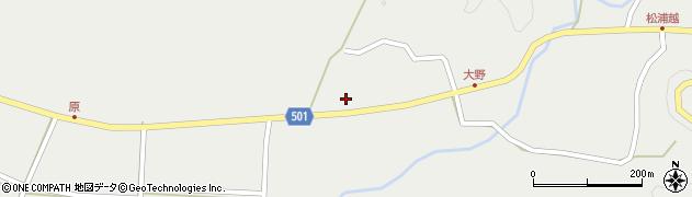 大分県佐伯市木立4907周辺の地図