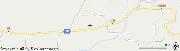 大分県佐伯市木立5397周辺の地図