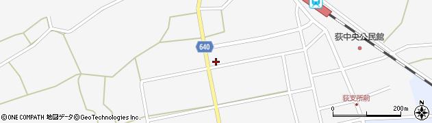 大分県竹田市荻町馬場508周辺の地図