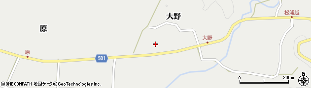 大分県佐伯市木立5009周辺の地図