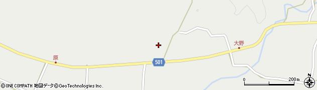 大分県佐伯市木立4937周辺の地図