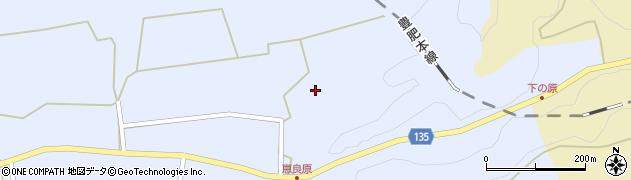 大分県竹田市荻町恵良原2005周辺の地図