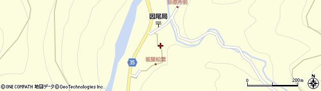 大分県佐伯市本匠大字堂ノ間1300周辺の地図