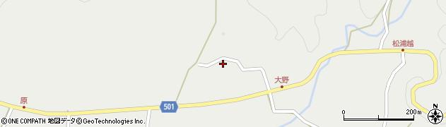 大分県佐伯市木立5151周辺の地図