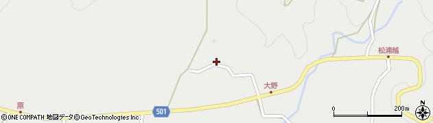 大分県佐伯市木立5016周辺の地図
