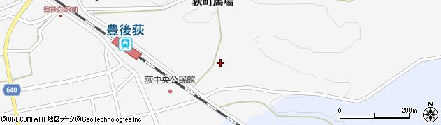 大分県竹田市荻町馬場桜町周辺の地図