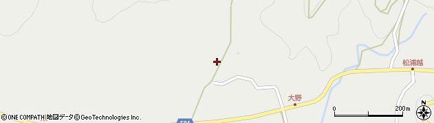 大分県佐伯市木立5100周辺の地図