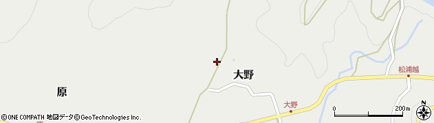 大分県佐伯市木立5103周辺の地図
