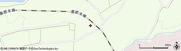大分県竹田市荻町藤渡789-1周辺の地図