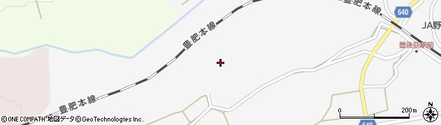 大分県竹田市荻町馬場672周辺の地図