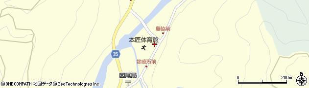 大分県佐伯市本匠大字堂ノ間1061周辺の地図