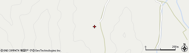 大分県佐伯市長良3644周辺の地図