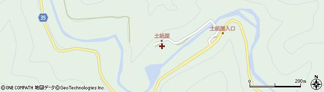 大分県佐伯市本匠大字山部225周辺の地図