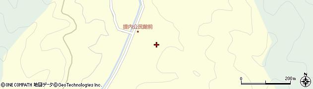 大分県佐伯市弥生大字提内356周辺の地図