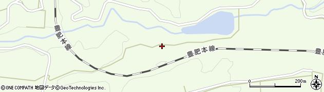 大分県竹田市荻町木下1589周辺の地図