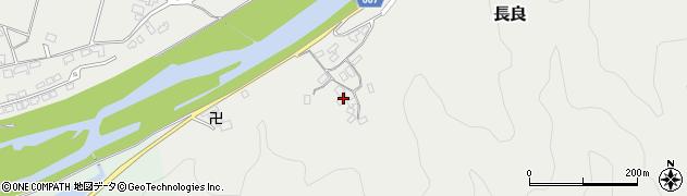 大分県佐伯市長良2317周辺の地図