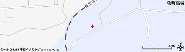 大分県竹田市荻町高城647周辺の地図