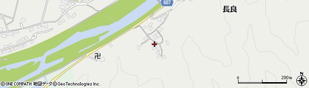 大分県佐伯市長良2314周辺の地図