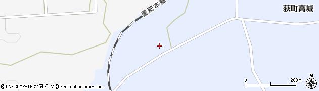大分県竹田市荻町高城646周辺の地図