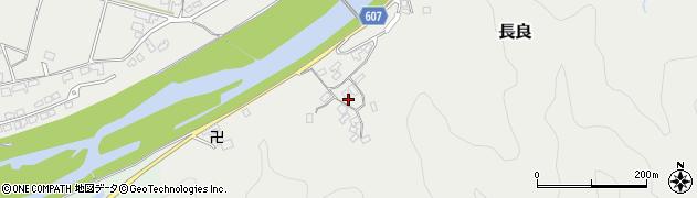 大分県佐伯市長良2433周辺の地図