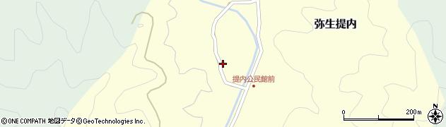 大分県佐伯市弥生大字提内1146周辺の地図
