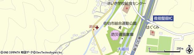 大分県佐伯市長谷5563周辺の地図