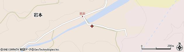 大分県竹田市岩本238周辺の地図