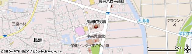 熊本県長洲町(玉名郡)周辺の地図