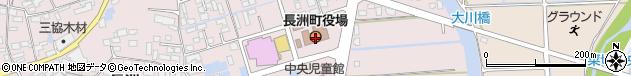 熊本県玉名郡長洲町周辺の地図