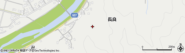 大分県佐伯市長良2551周辺の地図