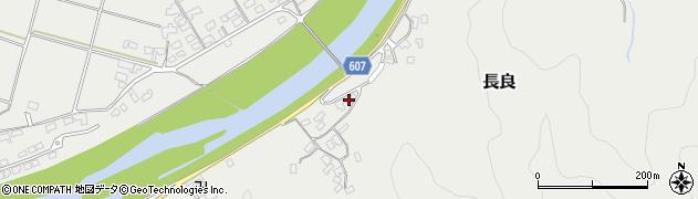 大分県佐伯市長良2450周辺の地図